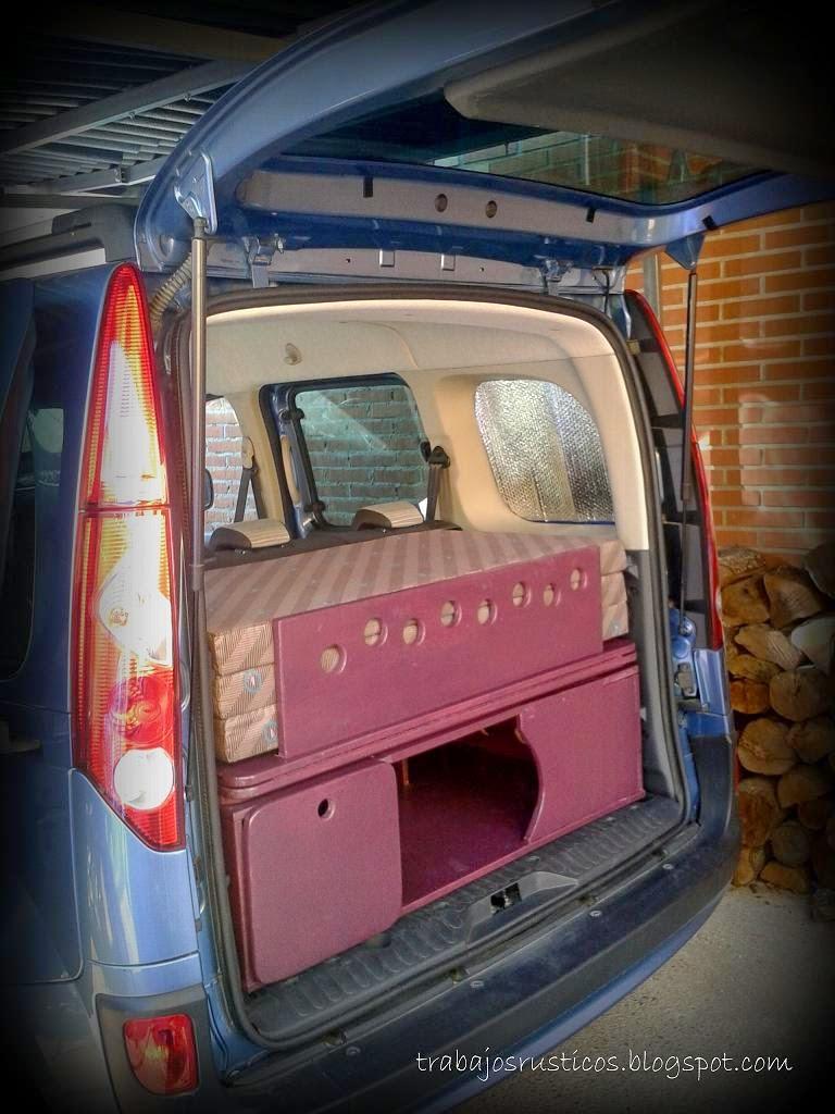 Diseñada para una Renault kangoo 2011 en adelante y valida tambien