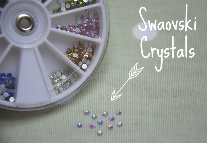 Swaovski Crystals For Nail Art Ideas