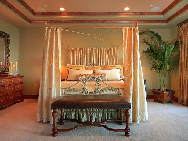 Modern furniture romantic bedroom for Bedroom designs romantic