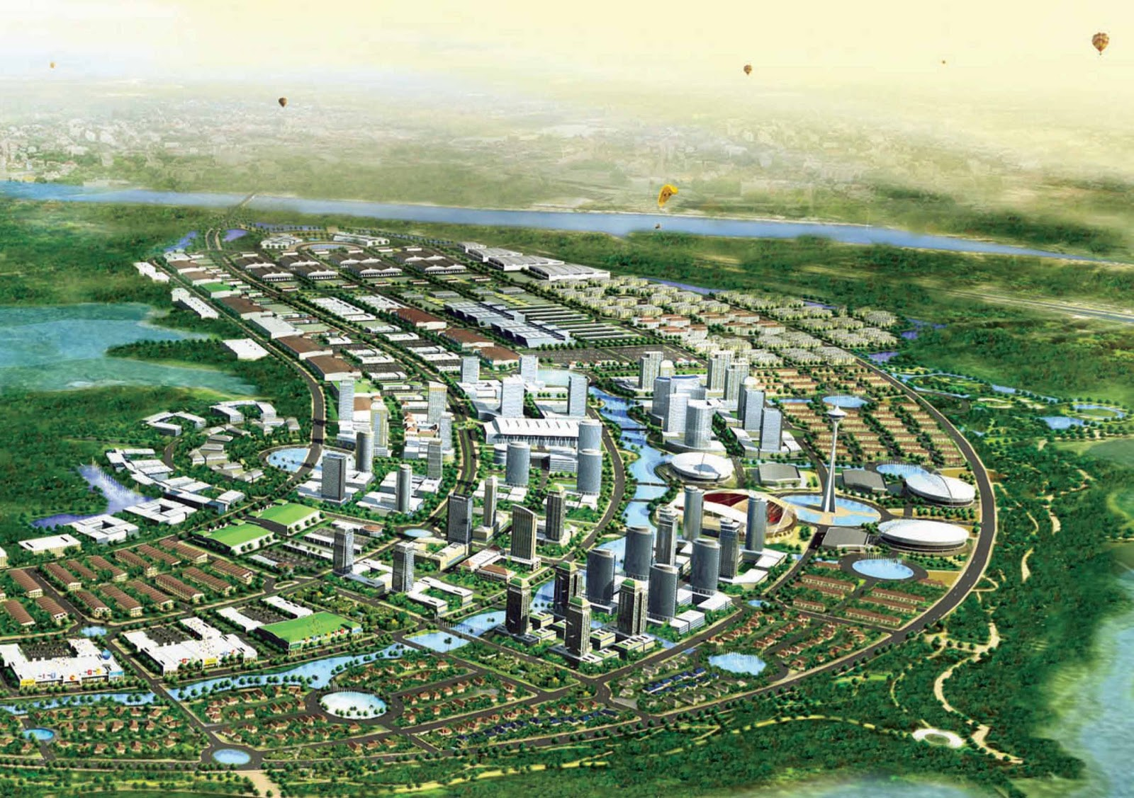 Projects Cambodia Lyp Group To Build New Satellite City