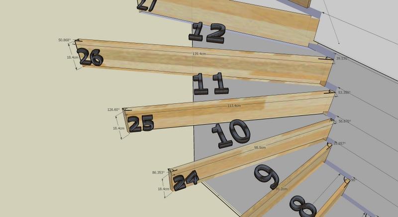 bouwdagboek montse en dirk 15 11 2011 uittekenen houten