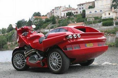 ferrari hybrid bike car