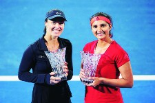 Saniya-Martina Wins Sydney International