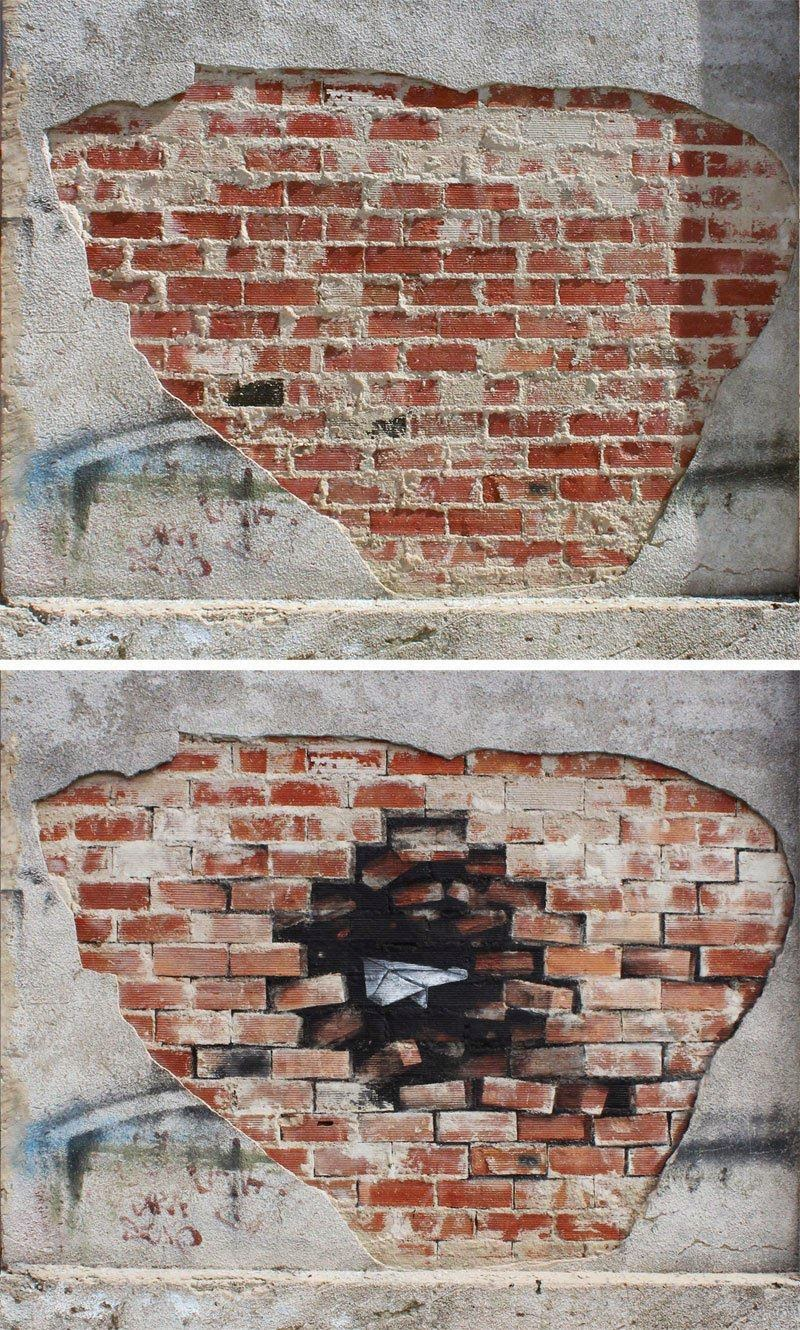 Amazing Street Art Work by Spanish Artist Pejac