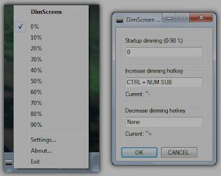 DimScreen ( Support W7 )