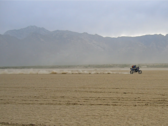 Laguna Diablo in Baja.  I hit 108mph with a 90 foot roost.