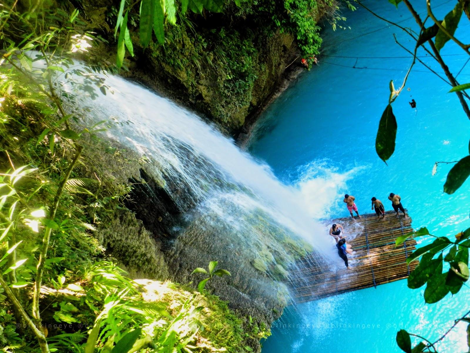 Kawasan Falls Matutinao Badian Cebu Blinkingeye Travels