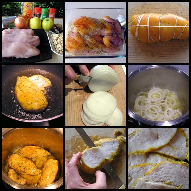 Milhojas de pollo-Dulcesbtrix