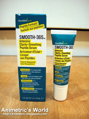 GoodSkin Labs Smooth-365 Intensive Clarity + Smoothing Serum Review