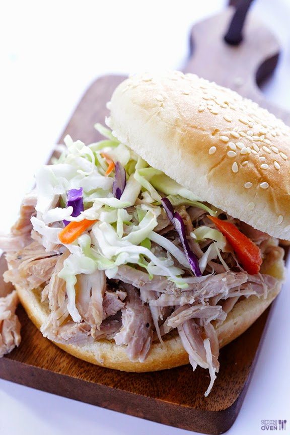 Slow Cooker Sandwiches with Chicken, Pork, or Beef for a Slow Cooker ...