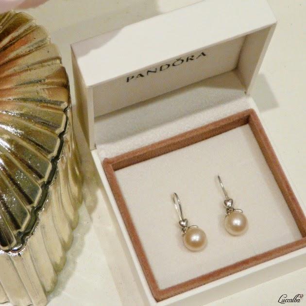Pendientes de Perlas de Pandora