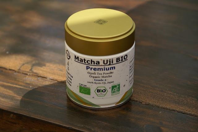 matcha thé vert japonais en poudre