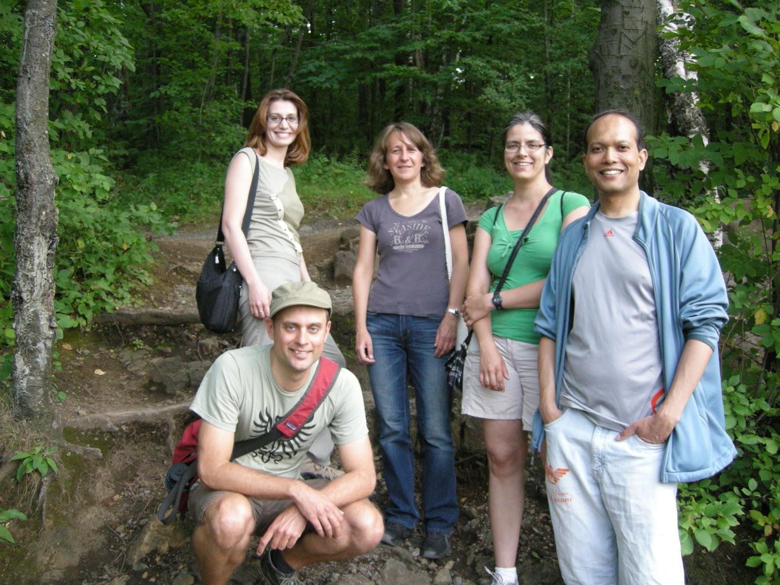 Groupe rencontre plein air