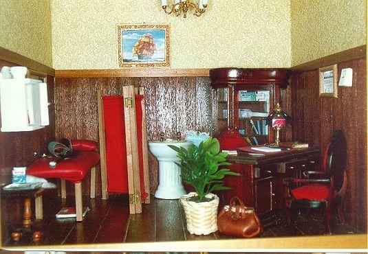 Il cielo in una stanza uno studio medico in miniatura - Mobili studio medico ...