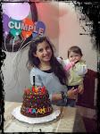 Torta 12 años de Tamara