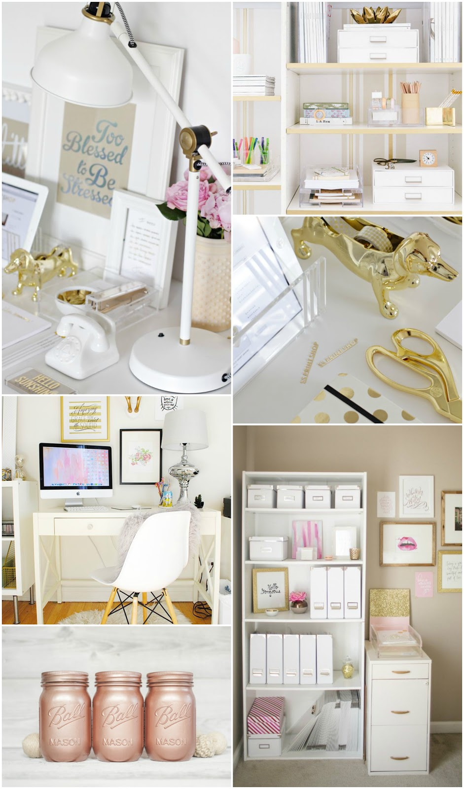 Amy Antoinette Lifestyle Blog Home Office Decor Inspiration