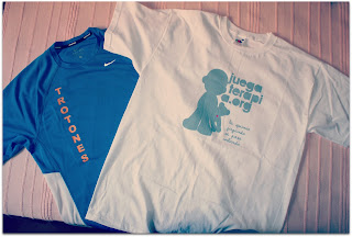 Camiseta trotona y camiseta de juegaterapia