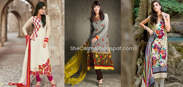 Pakistani Long Kameez Designs