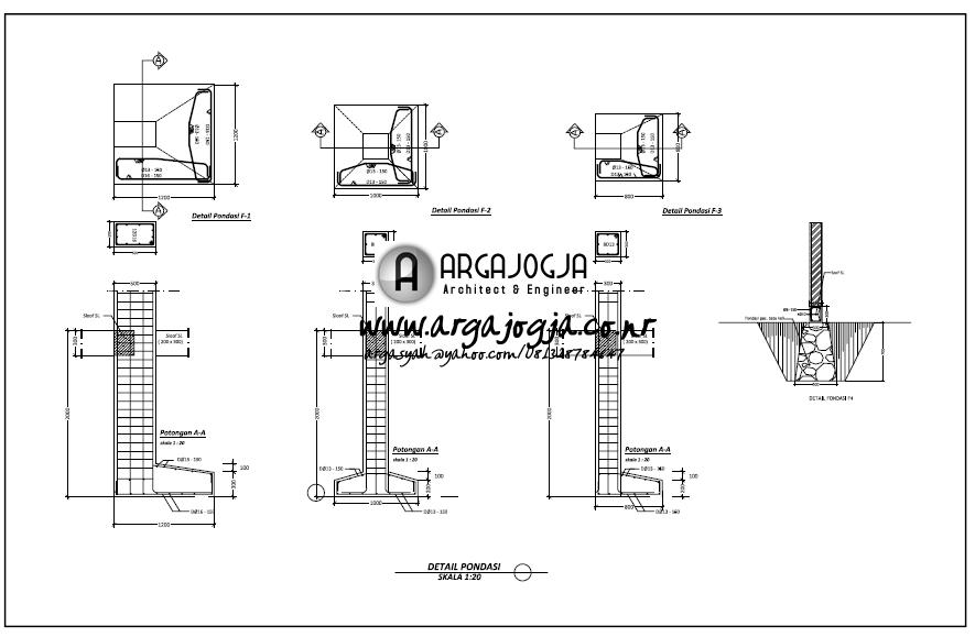 contoh gambar kerja dan desain jasa desain paket d
