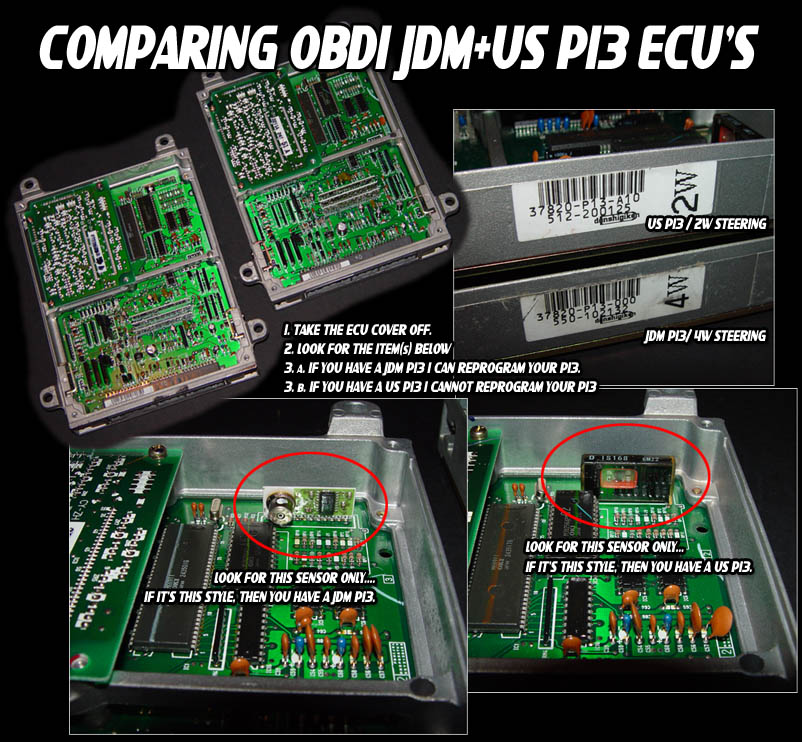 Ecu Differences Jdmedmusdm on 95 integra wiring diagram