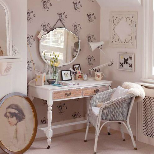 Shabby Chic home office design