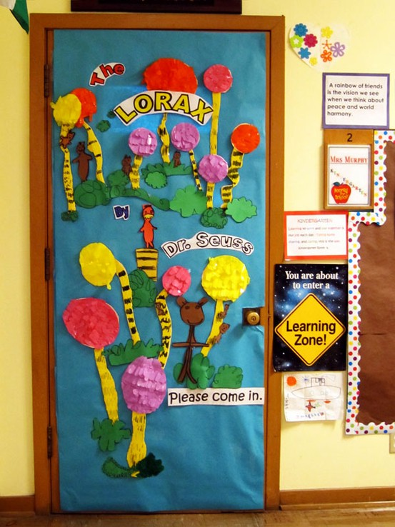 Lorax Classroom Decor ~ I am the lorax speak for trees clutter free