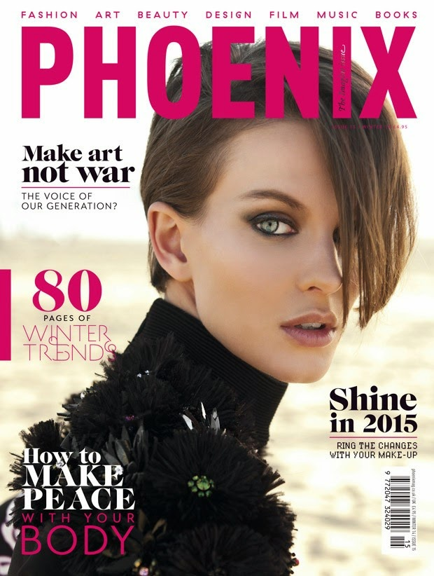 Ellinore Erichsen by Ryan Jerome for Phoenix Magazine