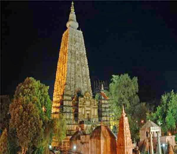 1.महाबोधि मंदिर (Mahabodhi temple)- Hindi Information