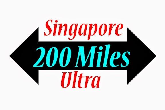 Singapore 200 Miles Ultra