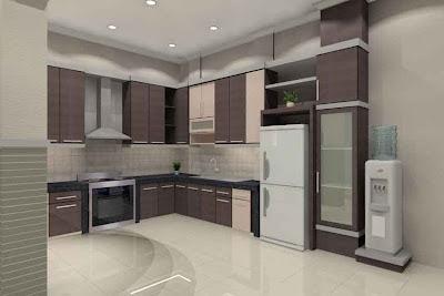 Gambar Desain Interior Dapur Minimalis 04