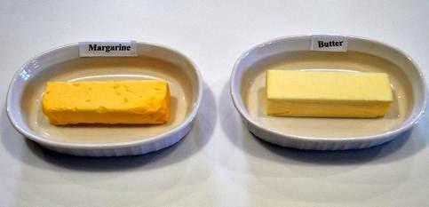 manteca vs margarina