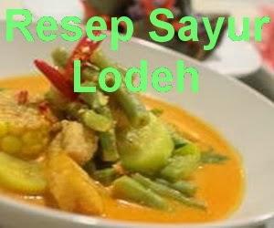 Resep Sayur Lodeh Jawa Barat
