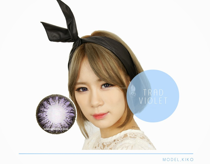 Trad Violet Contact Lenses at ohmylens.com