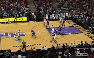 NBA 2K13 Sacramento Kings Court Patch