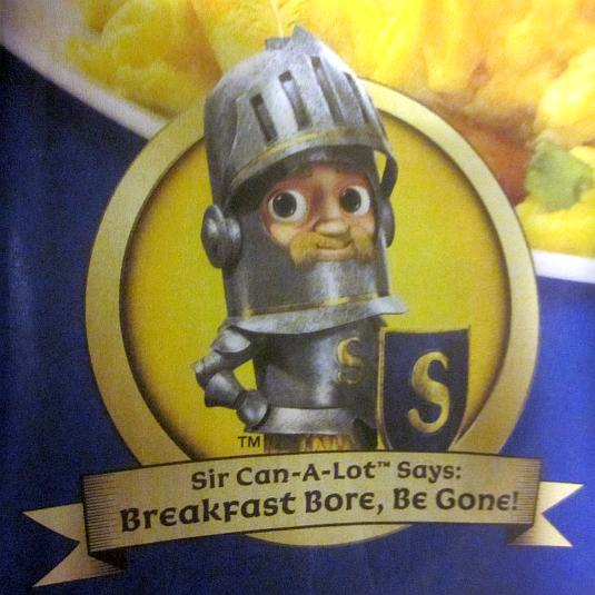 Spam, Sir Can-A-Lot, Cartoon character