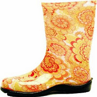 Sloggers Women's Wildflower Tallboot, Yellow