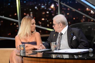 Jô Soares entrevista Valesca Popozuda - Crédito: Globo/Zé Paulo Cardeal
