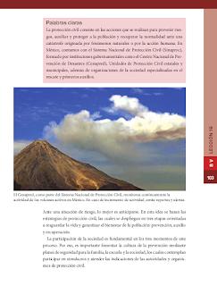 Cultura de la prevención - Formación Cívica y Ética 6to Bloque 5 2014-2015