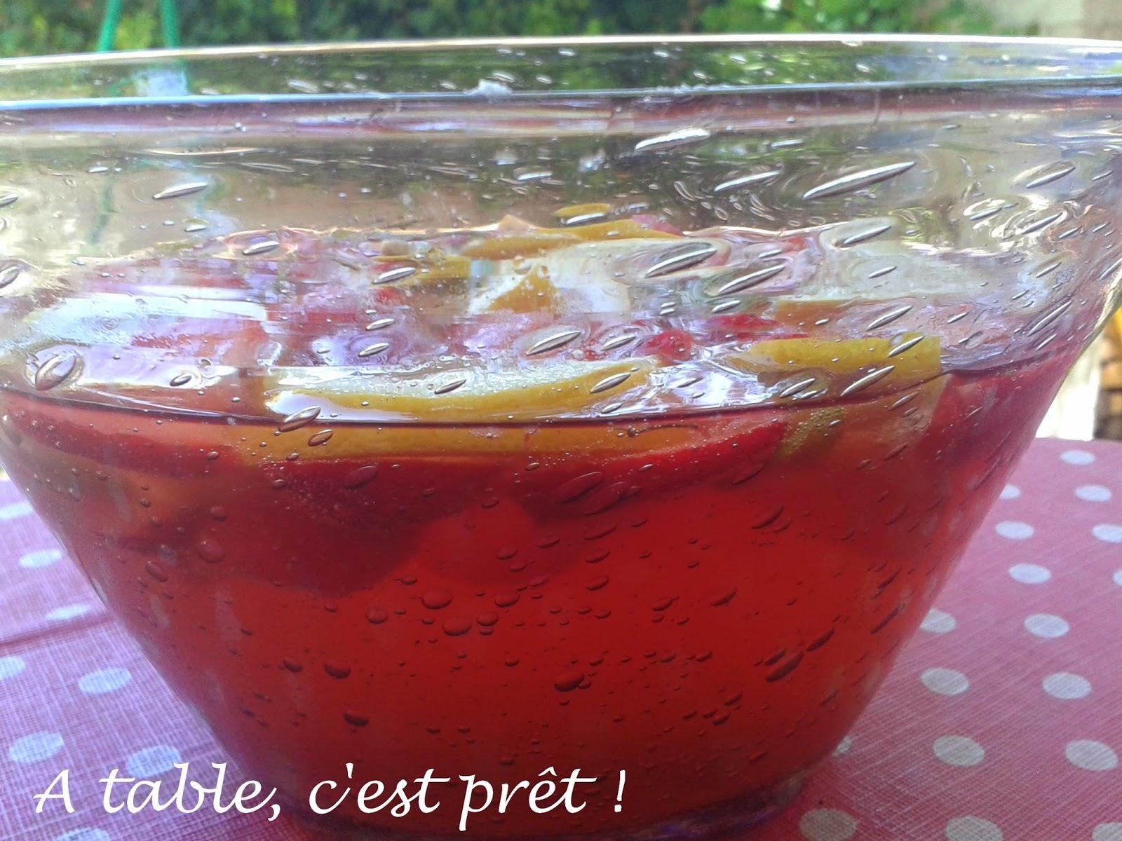 Table c 39 est pr t soupe de champagne aux fraises - Une bouteille de champagne pour combien de personnes ...
