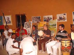 Visita aos parceiros da Casa De Angola
