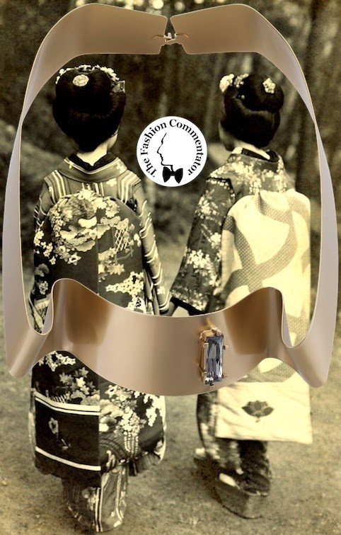 Noritamy SS2014 Necklace - collage by The Fashion Commentator