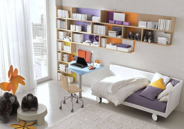 Librer as funcionales y decorativas ideas para decorar - Camera ikea ragazza ...