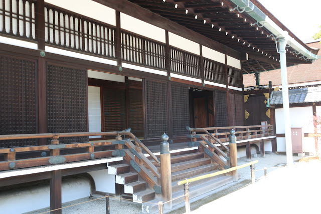 Ogakumonjo is the study hall for reading rites, poetry recital and for the Emperor to receive nobles at Kyoto Imperial Palace in Kyoto, Japan