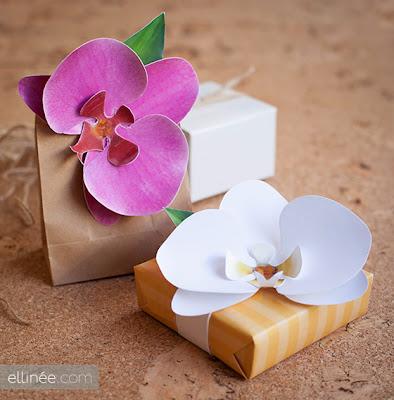 Como fazer orquídeas de papel passo a passo