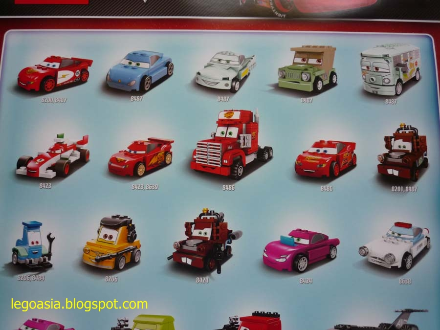 Lego Asia: Lego Promotion Posters July - Cars 2 & Star ...