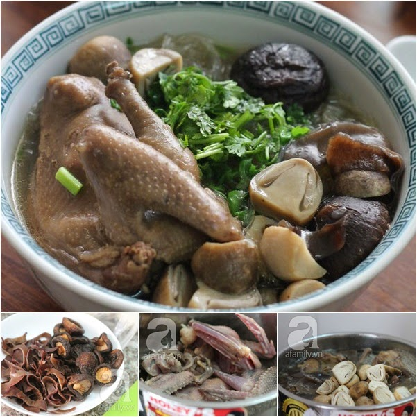 Nấu ăn: Miến chim bồ câu