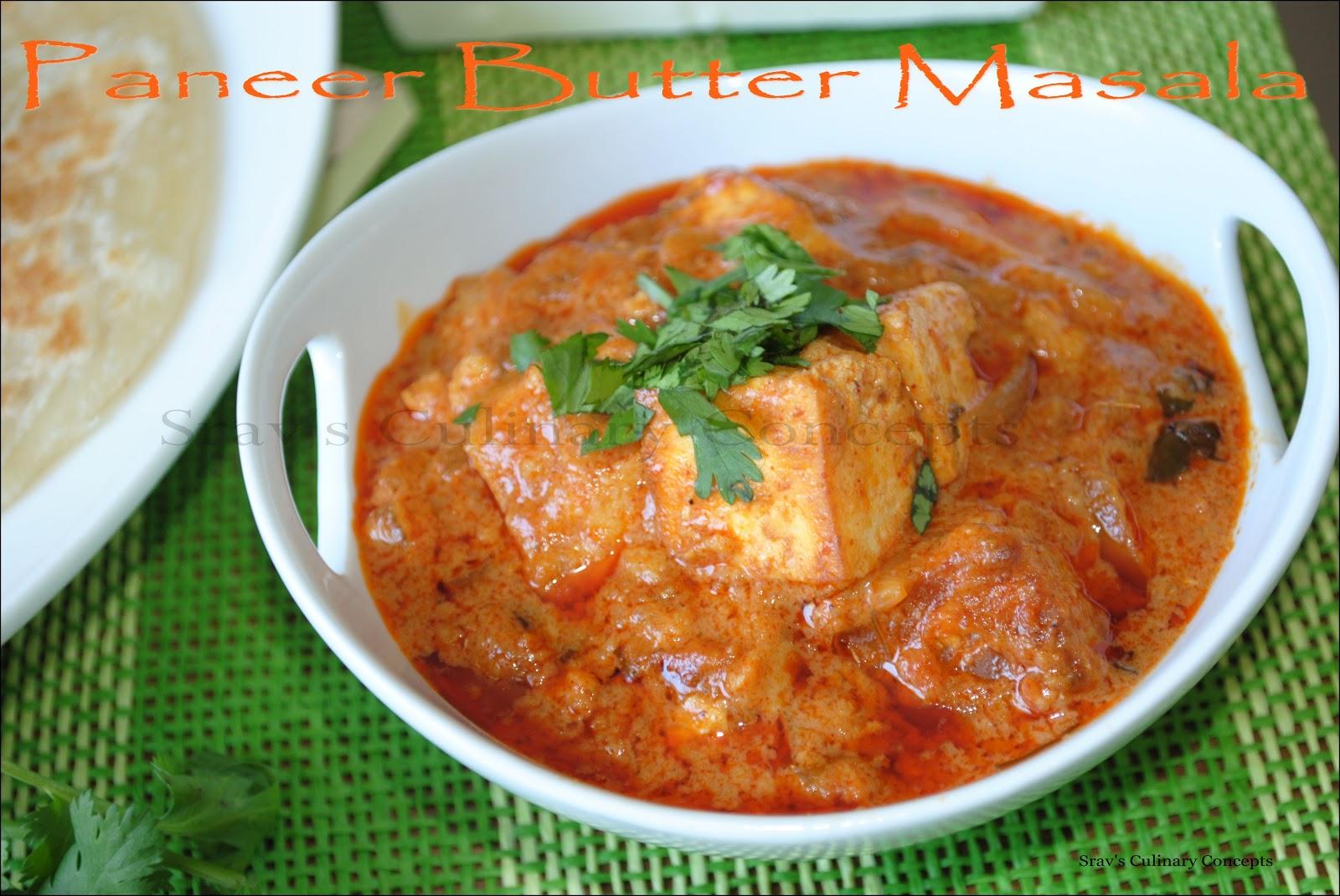 Butter Paneer Masala Recipe — Dishmaps
