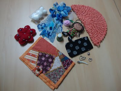 Los bellos regalos que recibí de Sonia.