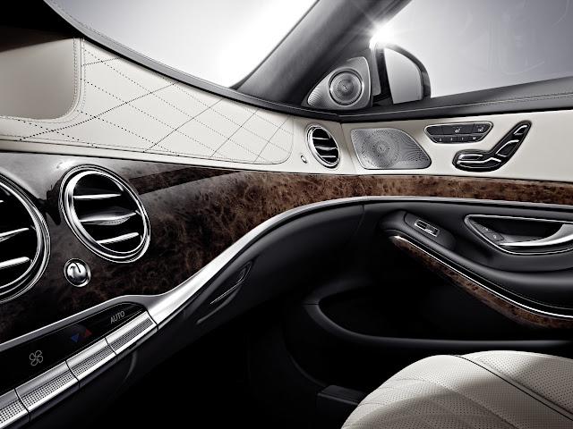 2014 Mercedes-Benz S Class: Official Interior Photos & Details