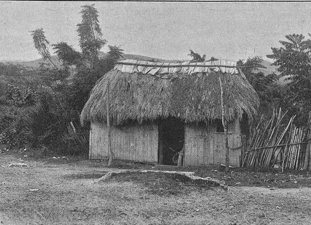 Casa típica cubana